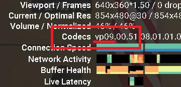 詳細統計情報をクリックすると表示されるPV09の表示画面